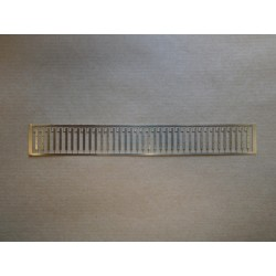 1/72nd RN 3 Bar Stanchion Set Etched Brass