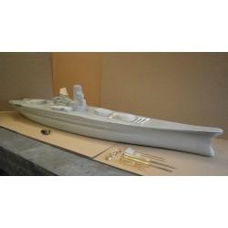 1/96th IJN Yamato/Musashi Battleship Semi Kit