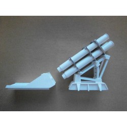 1/72nd Harpoon Launcher (4tube) *super detailed