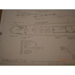 Beautifully drawn plan for Tubinia single sheet, by JR Haynes