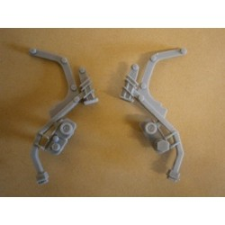 1/72 Gravity davits for use on Type 22 and ships of similar period
