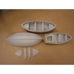 Moygannon Boat set x 3