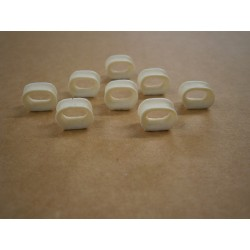 1/72nd Closed Fairleads Pack of 9