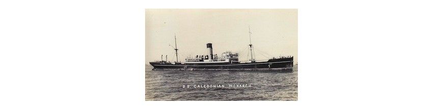 Caledonian Monarch (British Steam merchant)