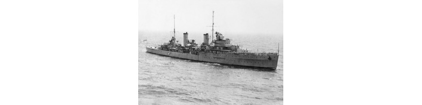 Modified Leander-class cruiser (WW2)