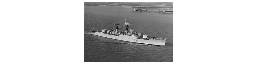 Royal navy type 41/61 (Leopard/ Salisbury Class)