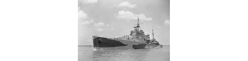 HMS Gambia / Colony Class Cruiser
