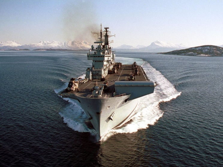 HMS INVINCIBLE STVOL PIC