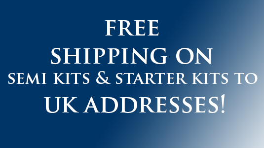 Free shipping UK Semi kits/stater kits