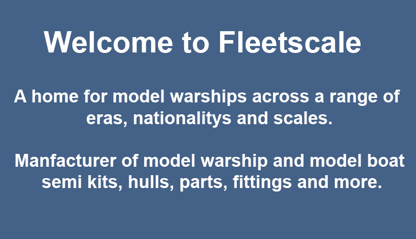 Fleetscale | Model Warship | Model Warships | Model Boats | Model