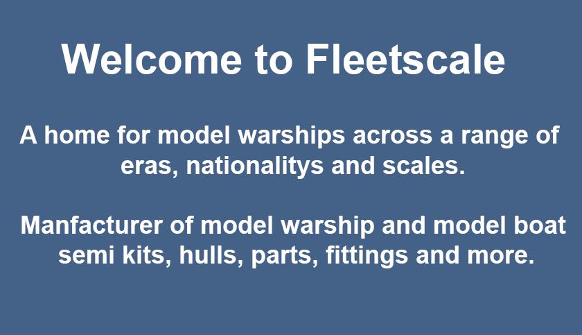 Fleetscale | Model Warship | Model Warships | Model Boats | Model